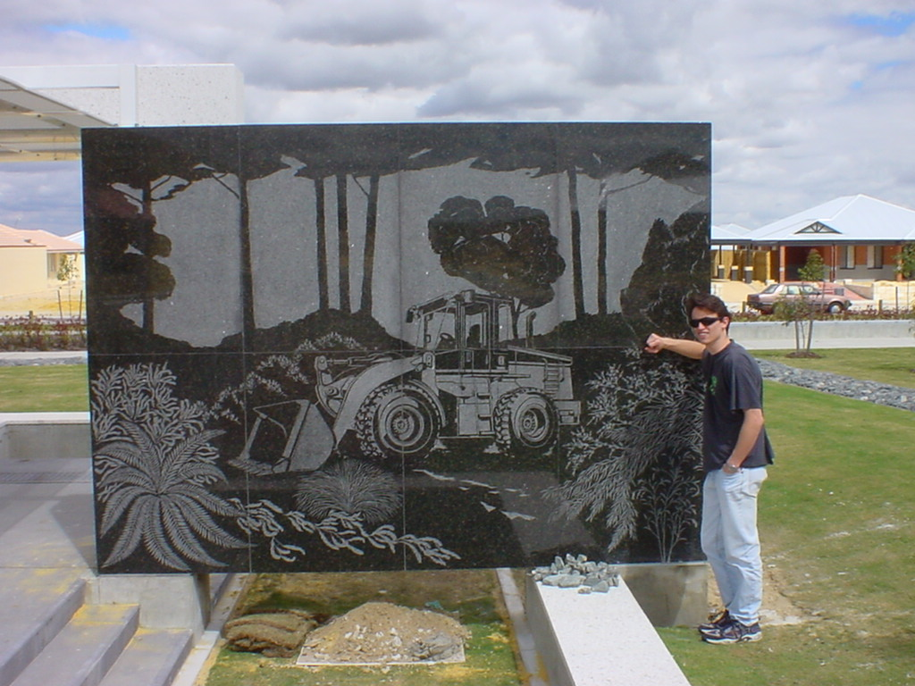 Ellenbrook Bulldozer Art