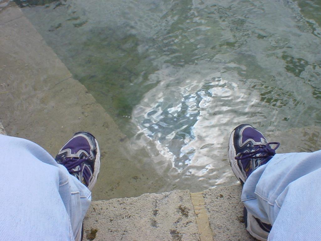 Daniel's Feet