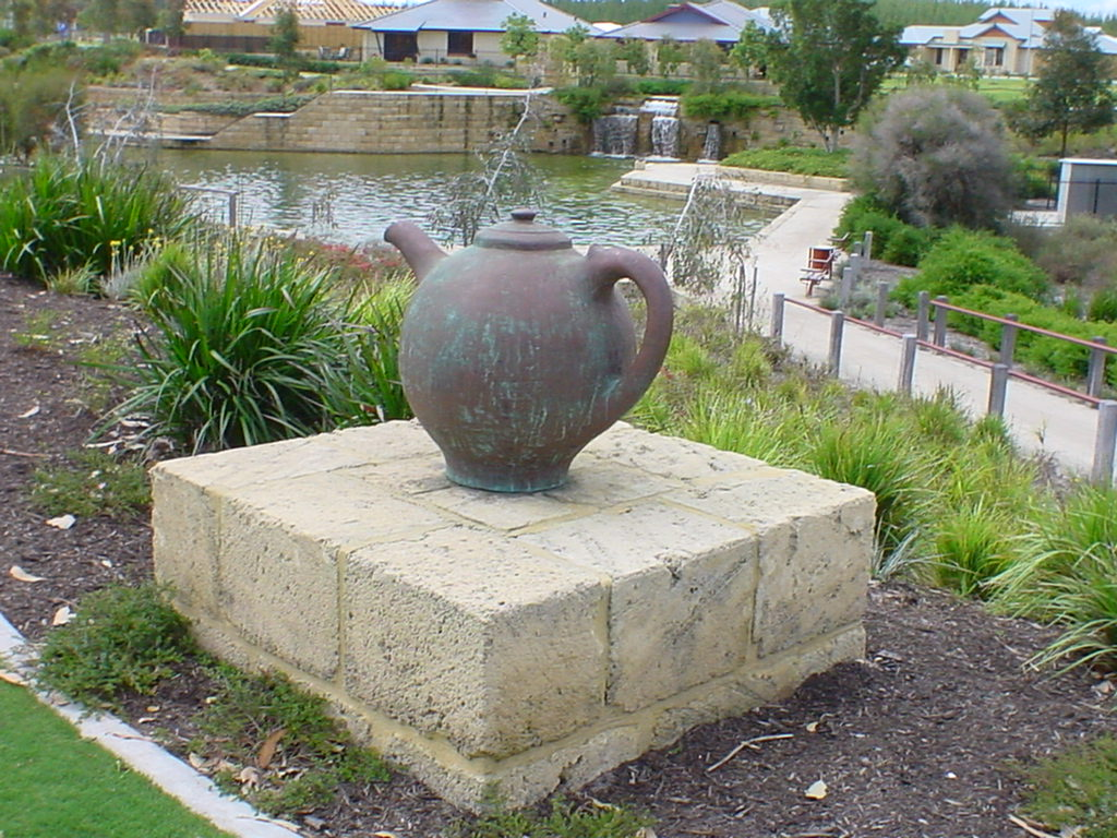 Giant Teapot