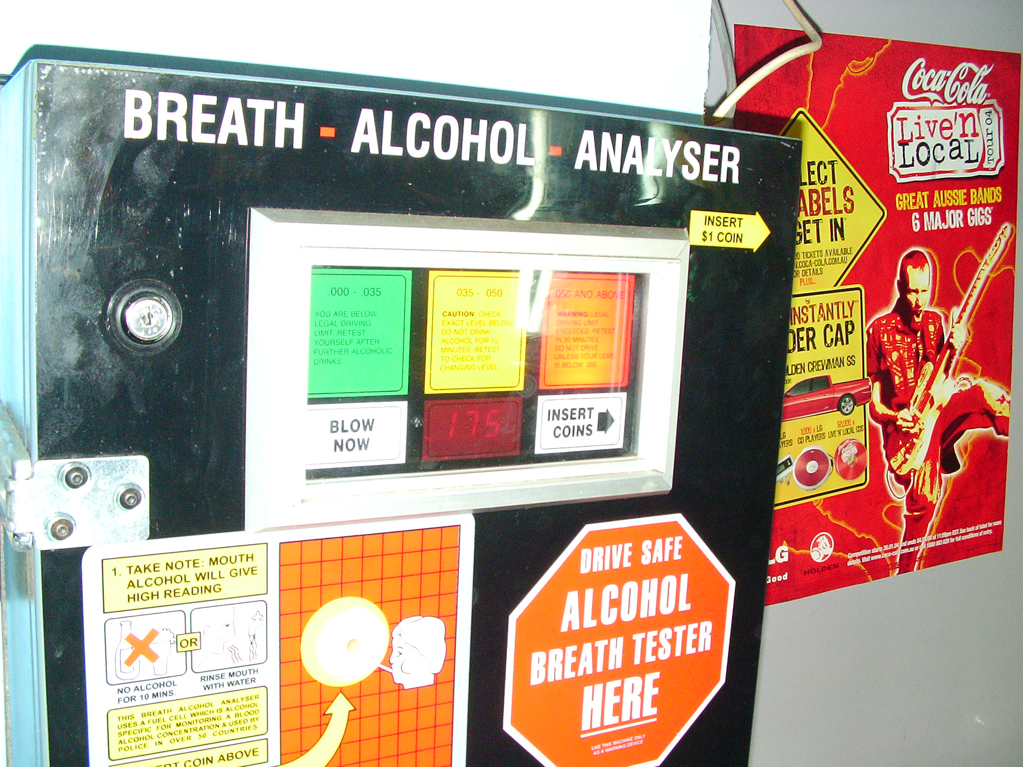 Breath Alcohol Analyser