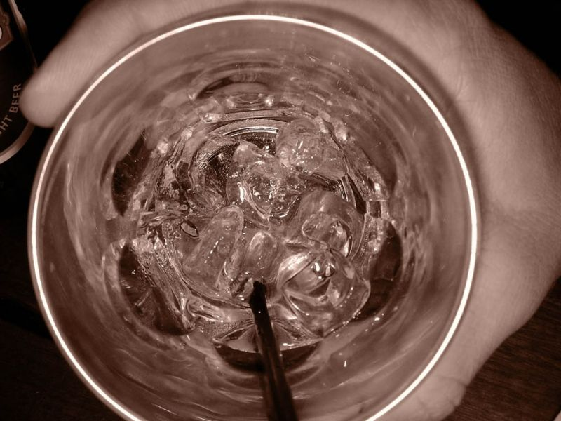 An Arthouse Photo of a Drink