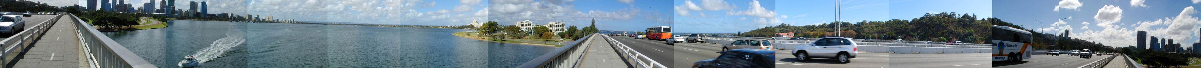 Narrows Bridge Panorama