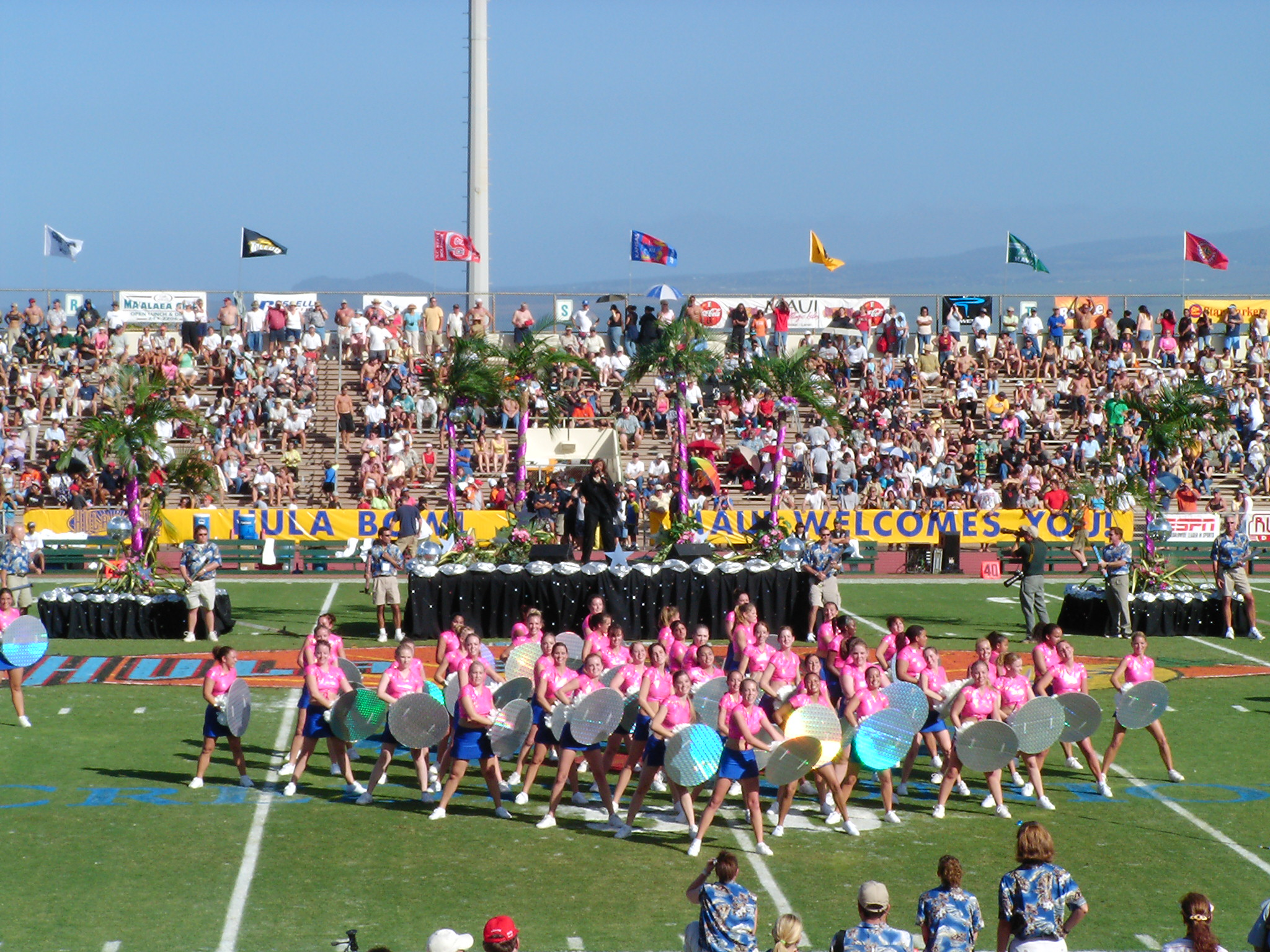 Hula Bowl Half Time