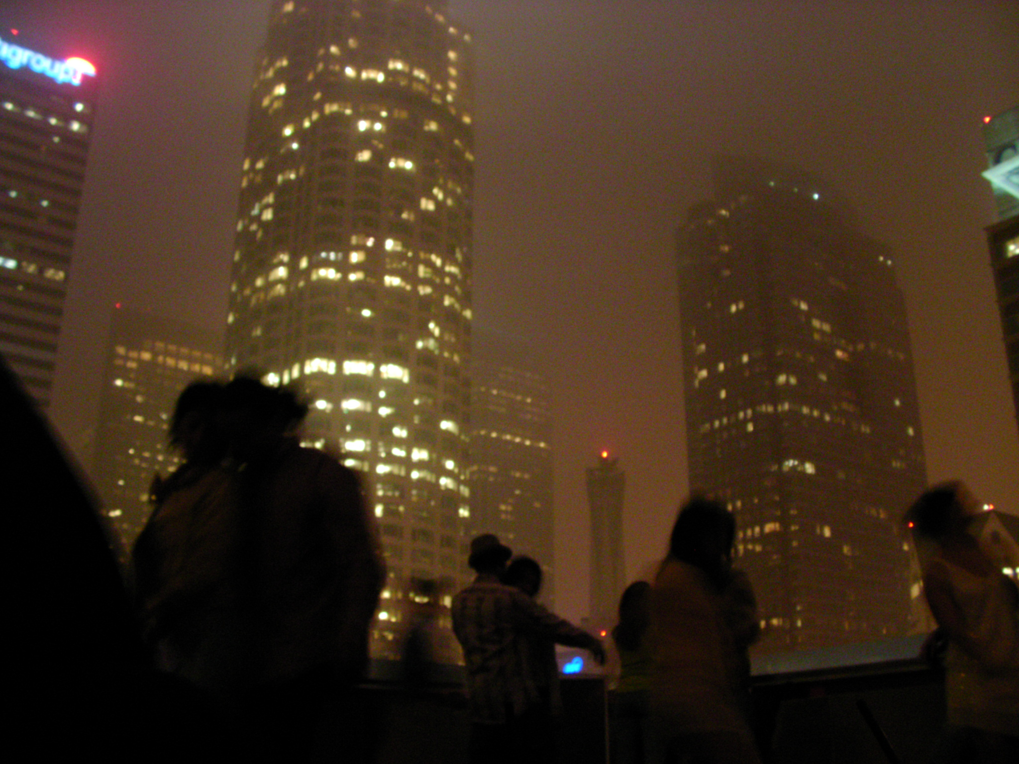 Foggy LA Night