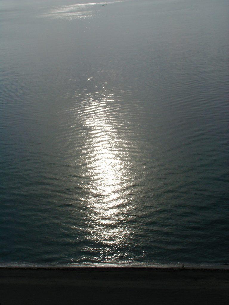 Sun on the Sea