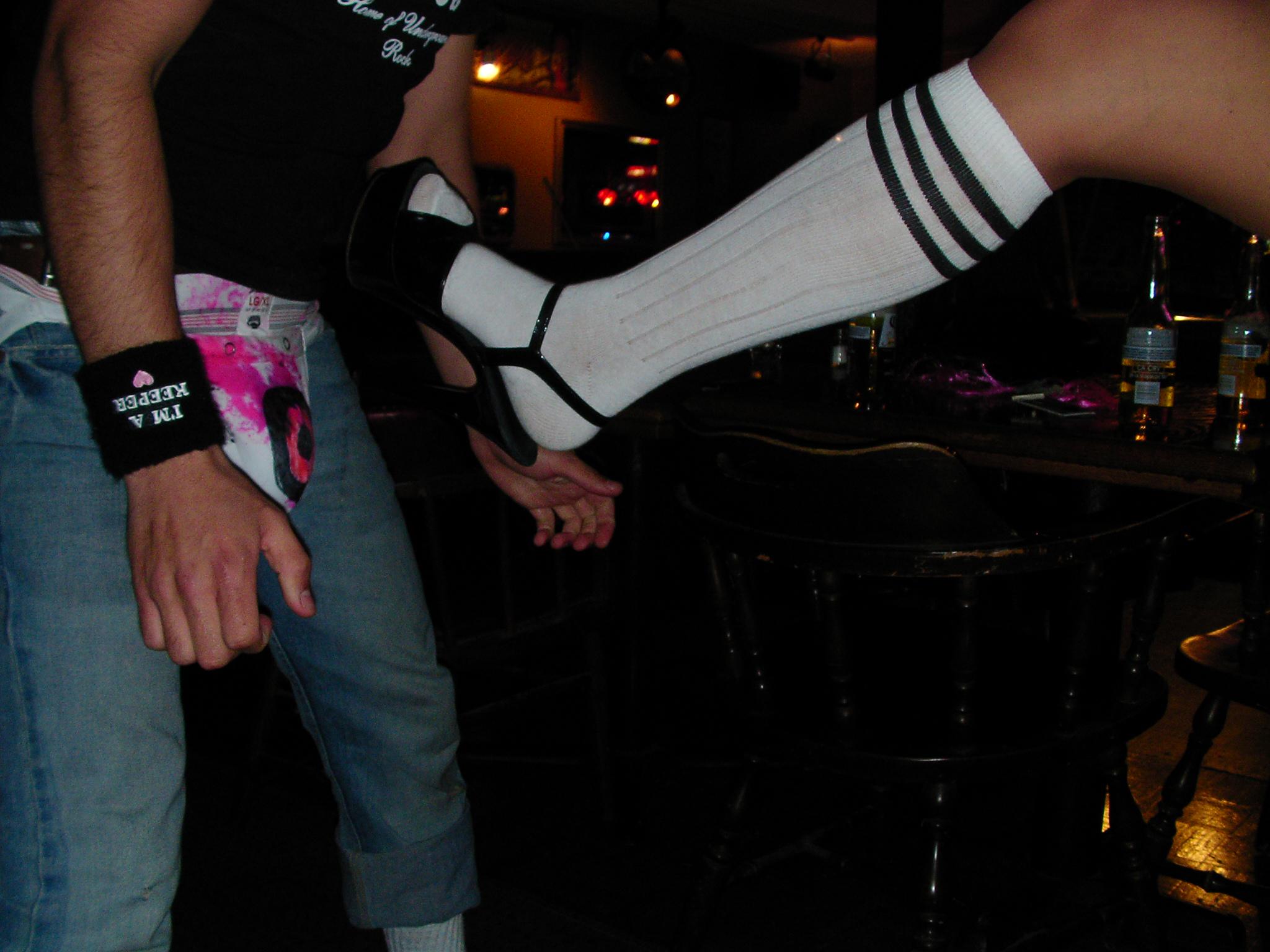 Dom Kicking Alex