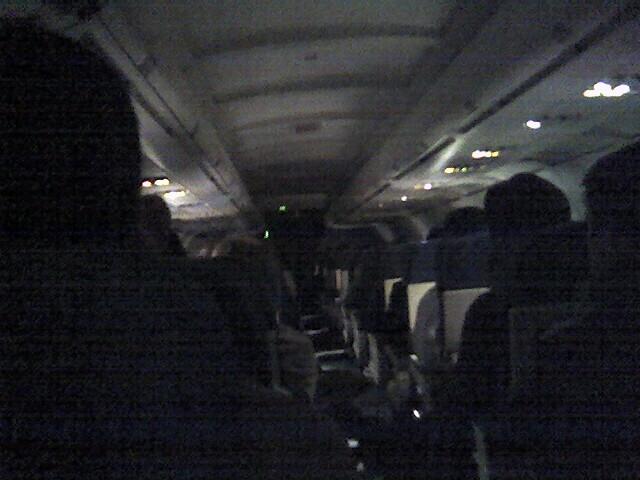 In-Flight, heading to Vegas