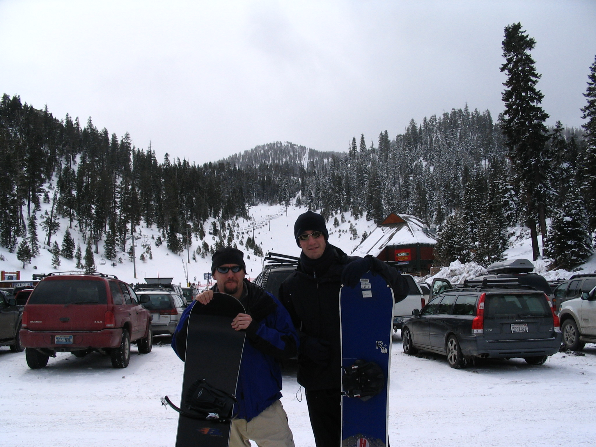 Blake and Me in Tahoe