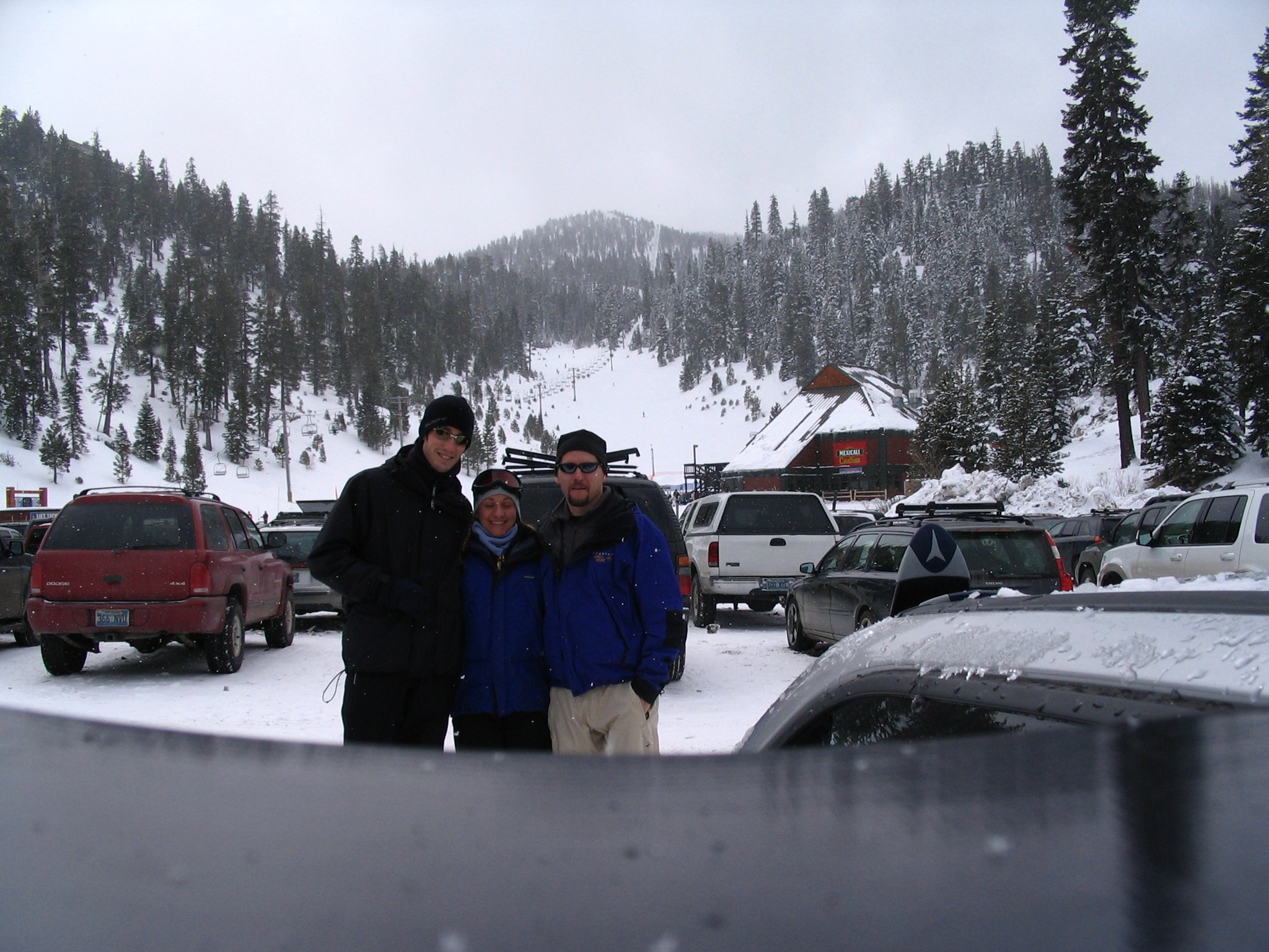 Me, Mandy and Blake in Tahoe