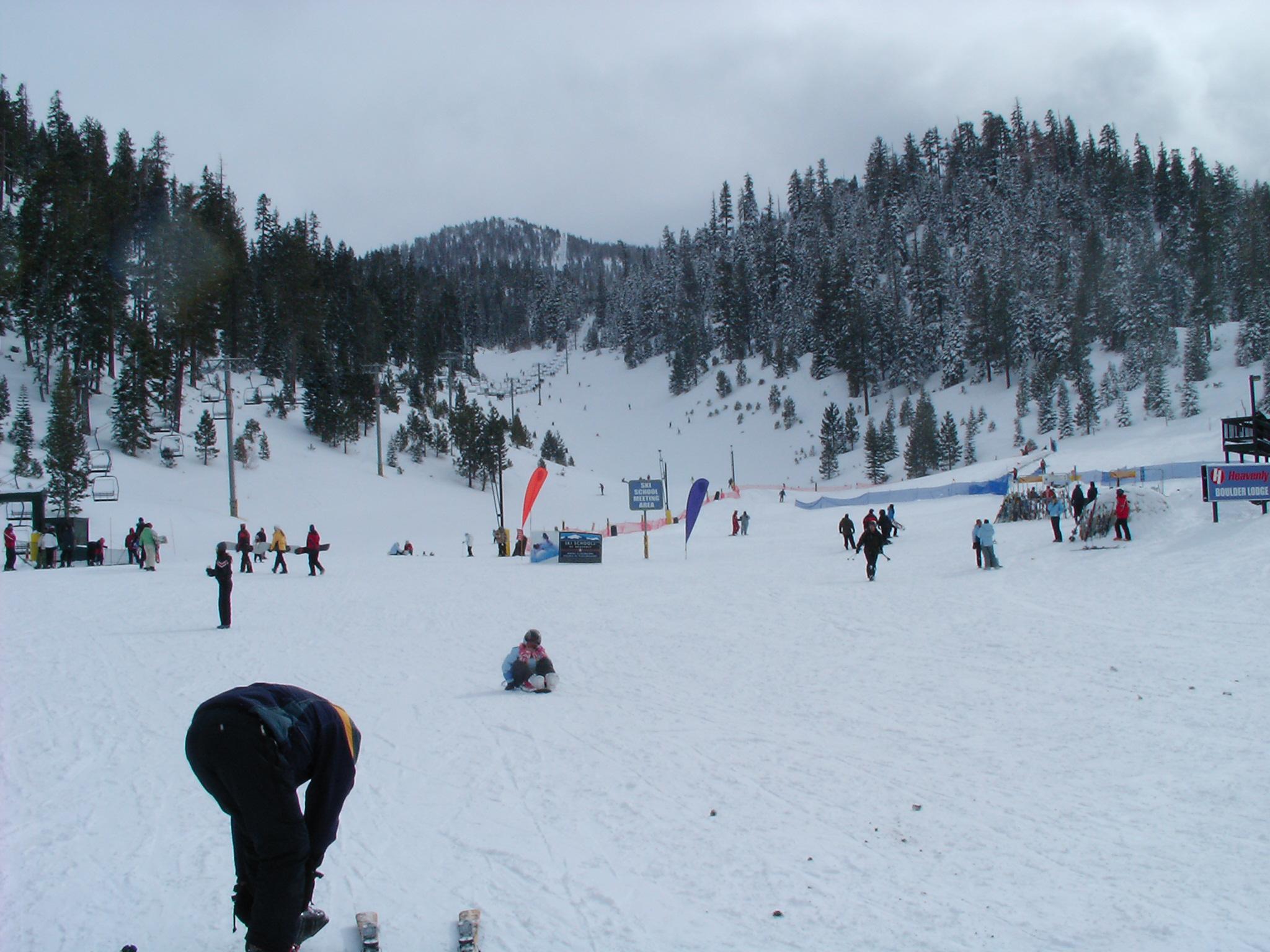 Boulder run @ Heavenly Resort, Tahoe