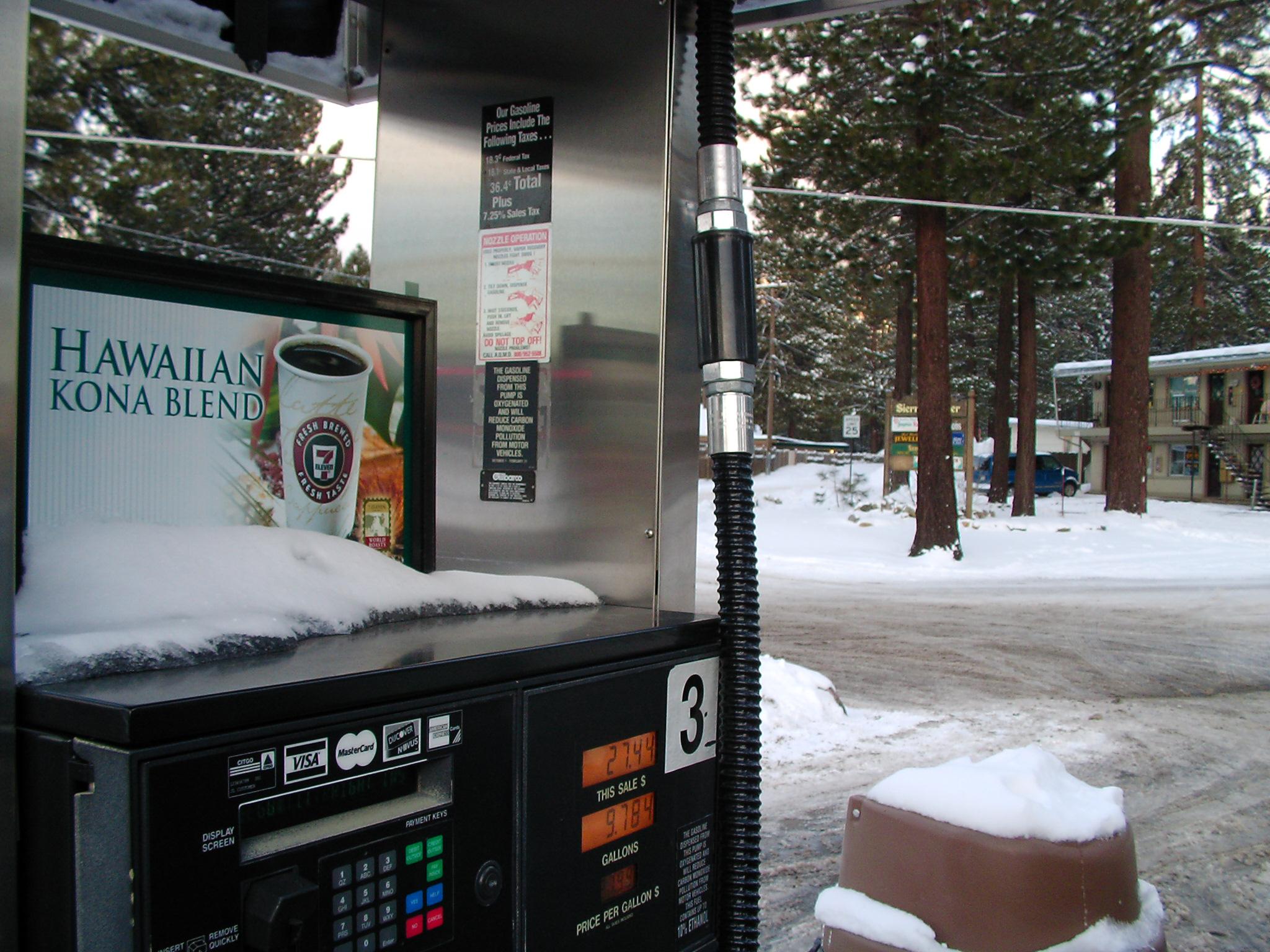 Kona Coffee.... in the snow
