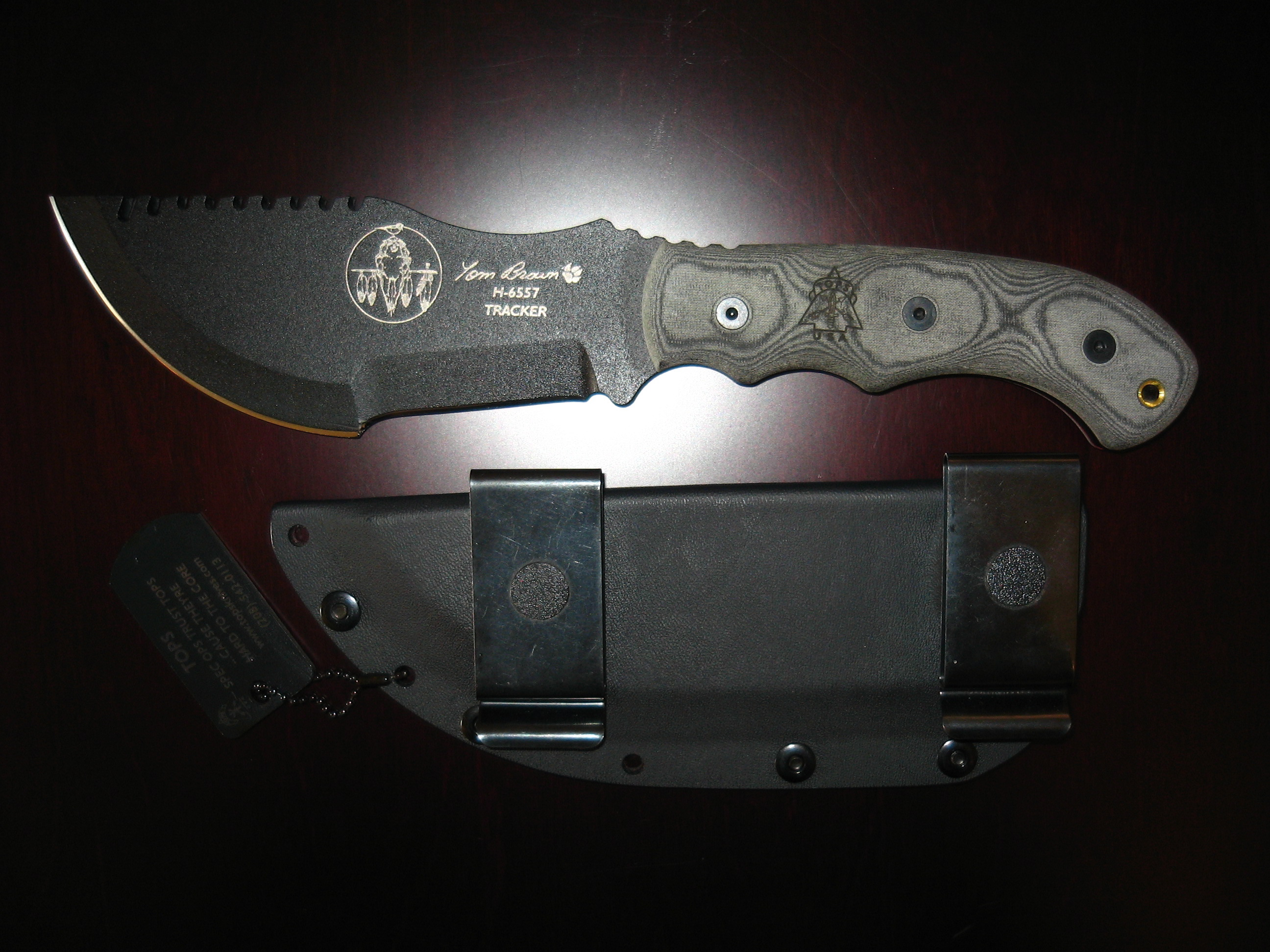 Tom Brown Tracker with Sheath