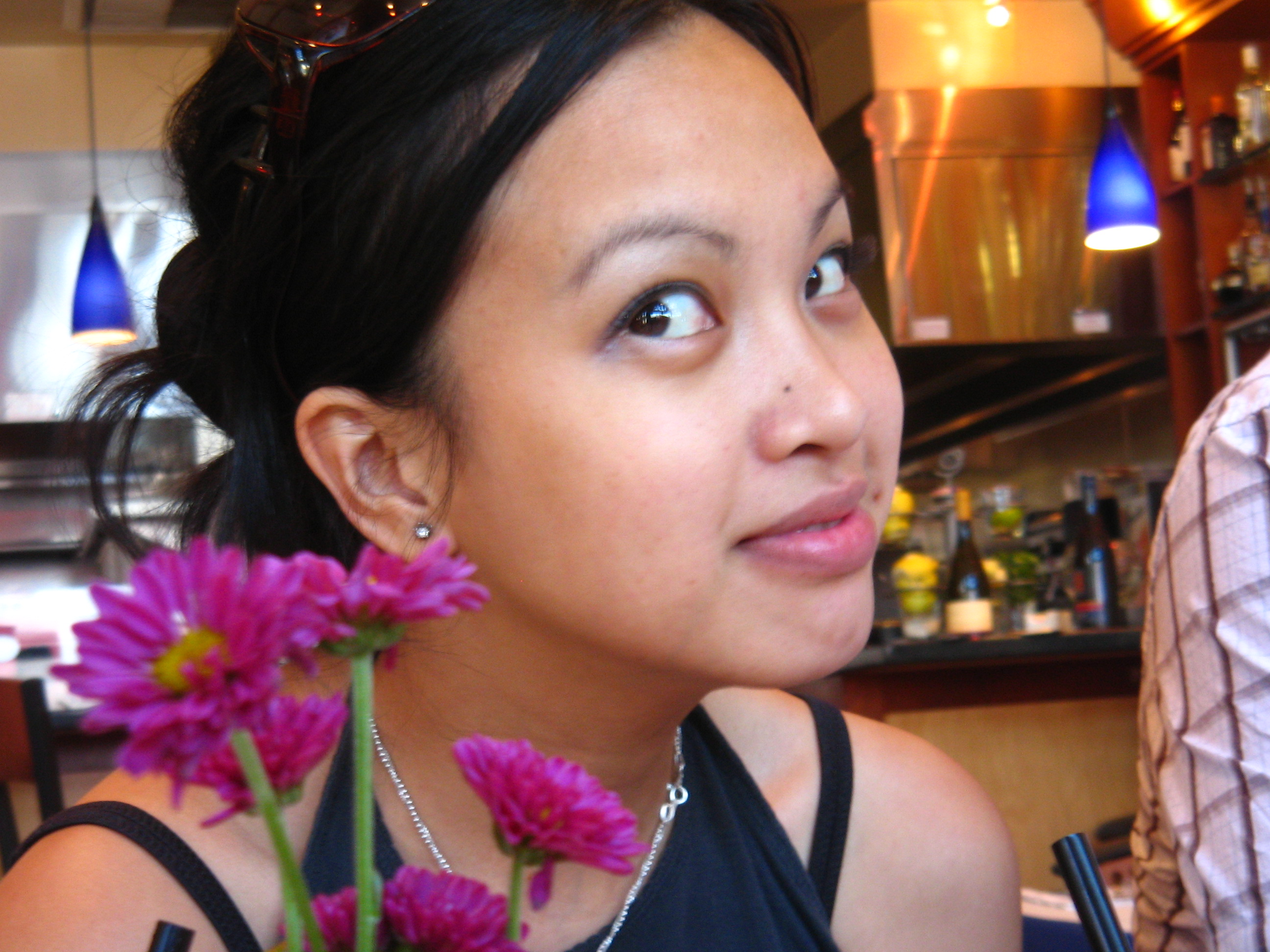 Bea With Flowers