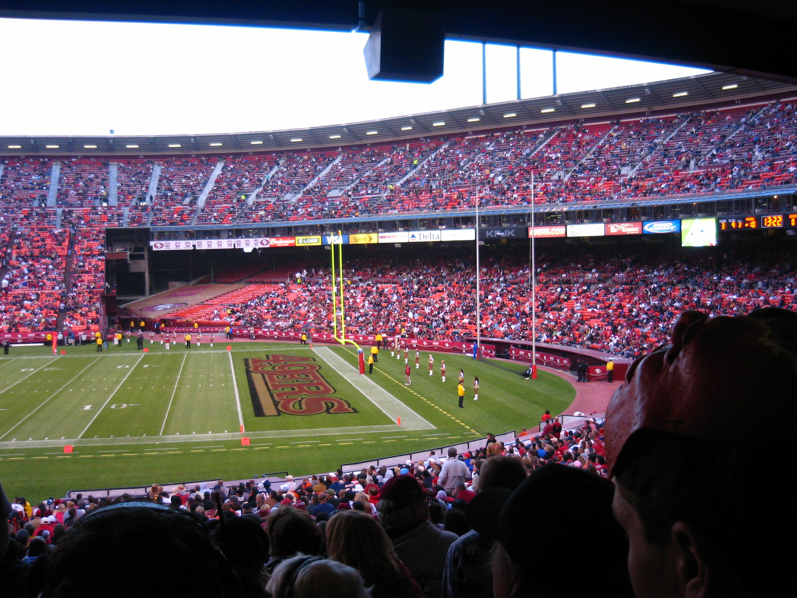 49ers @ Candlestick