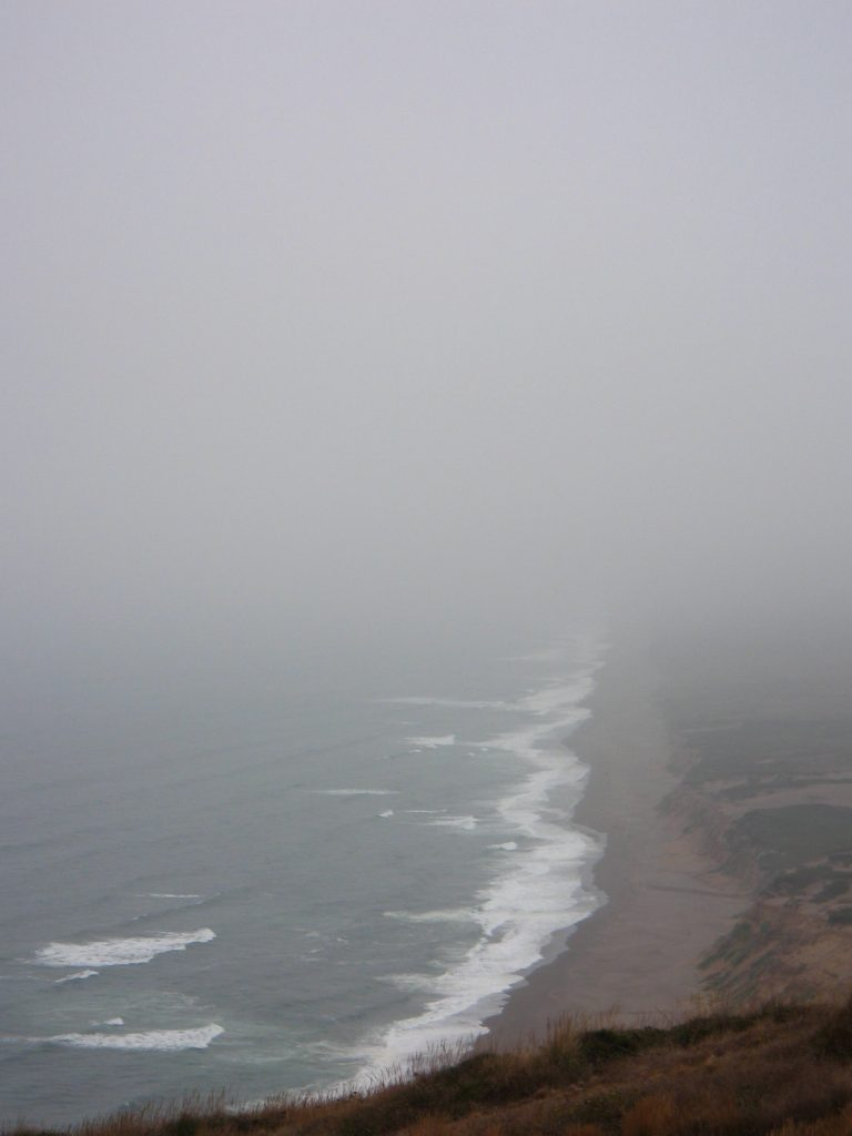 Beach in Fog