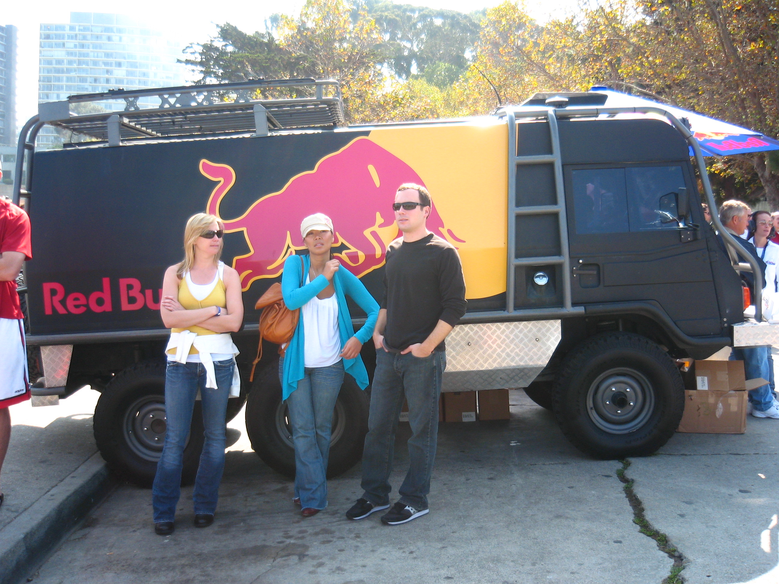 Red Bull Truck Thing