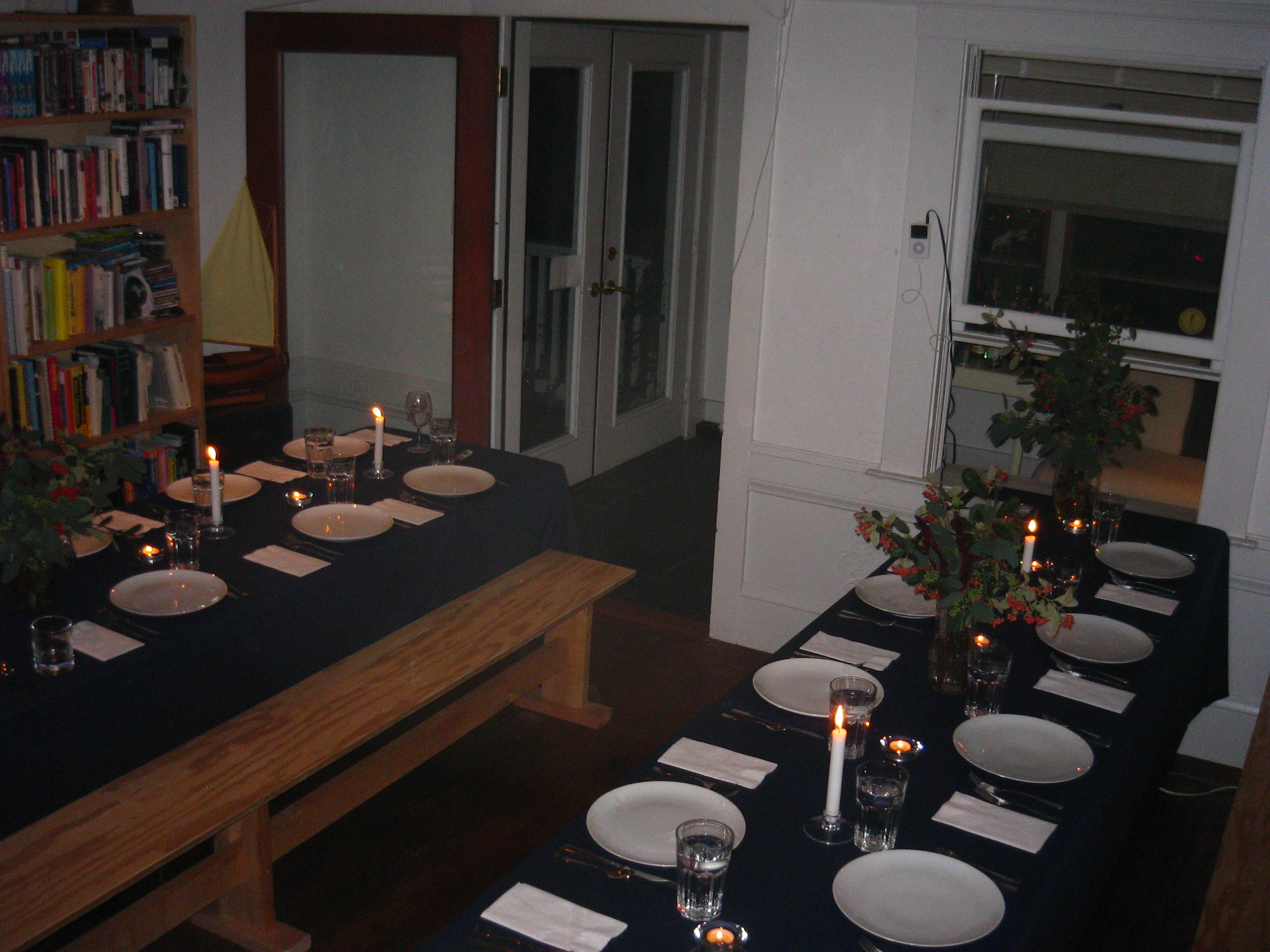 Tables Set and Ready