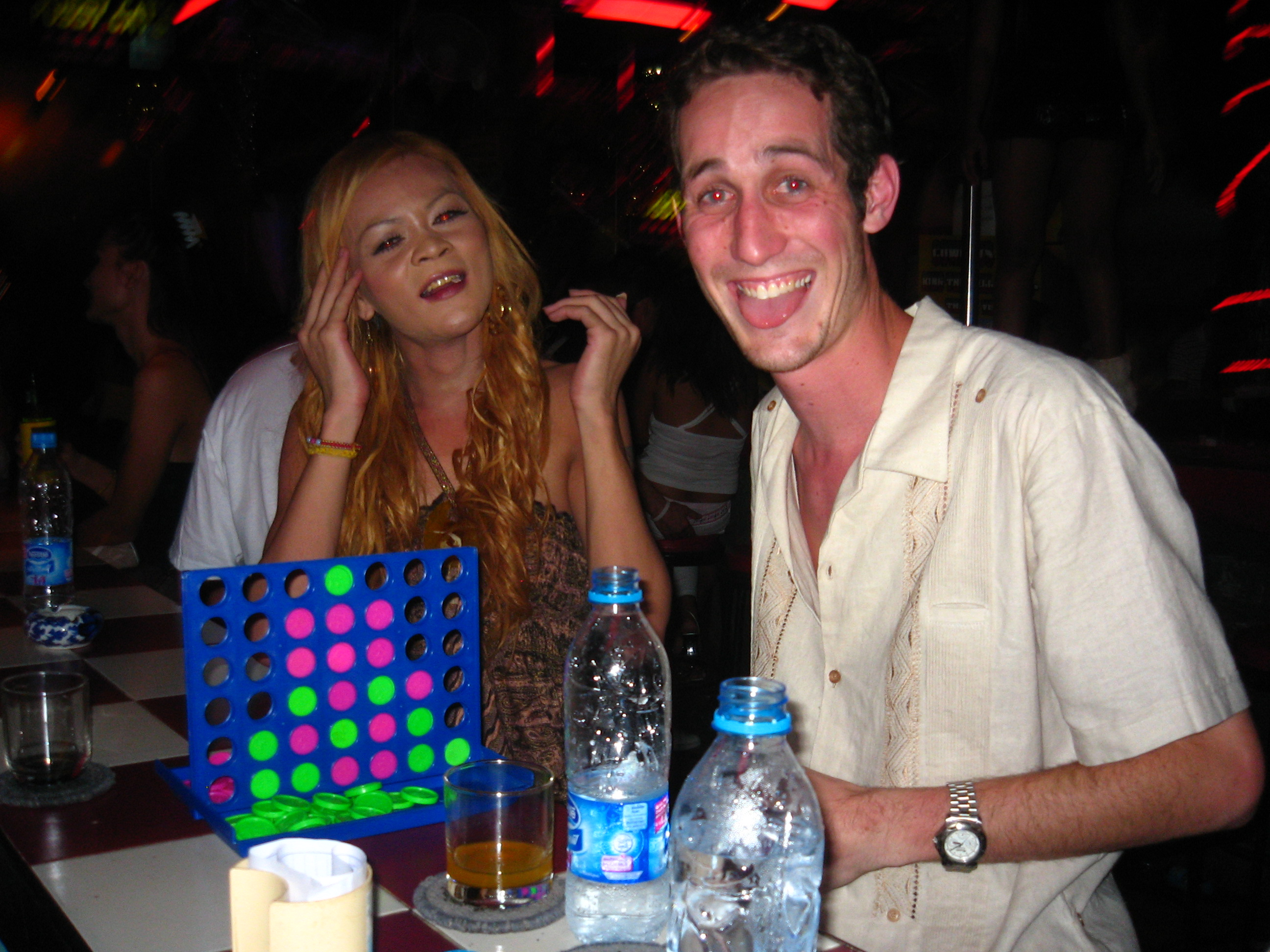 Connect 4 With a LadyBoy