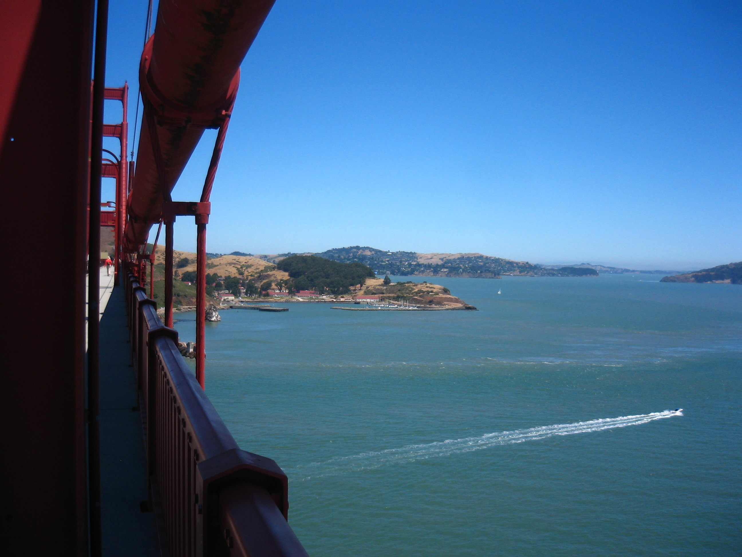 Towards Sausalito