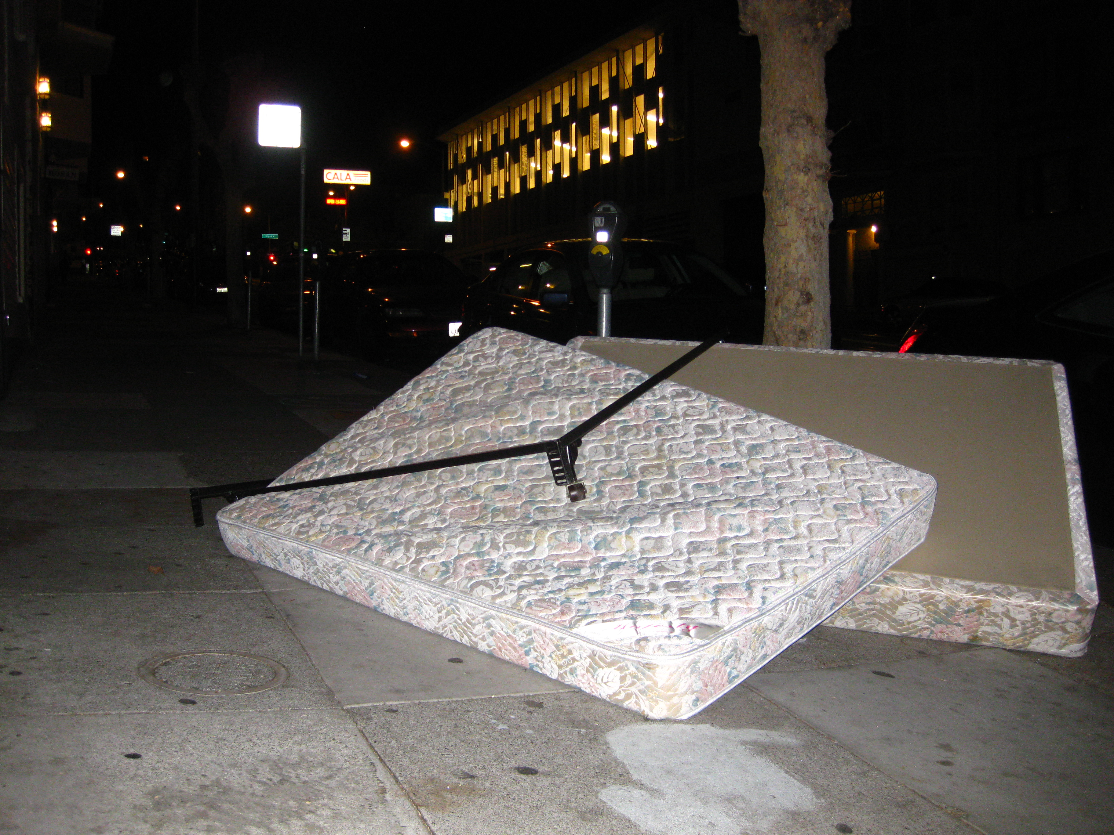 Discarded