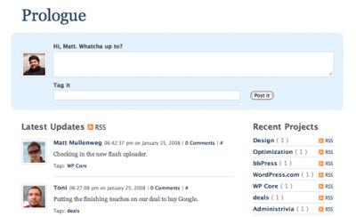 Prologue Theme for WordPress