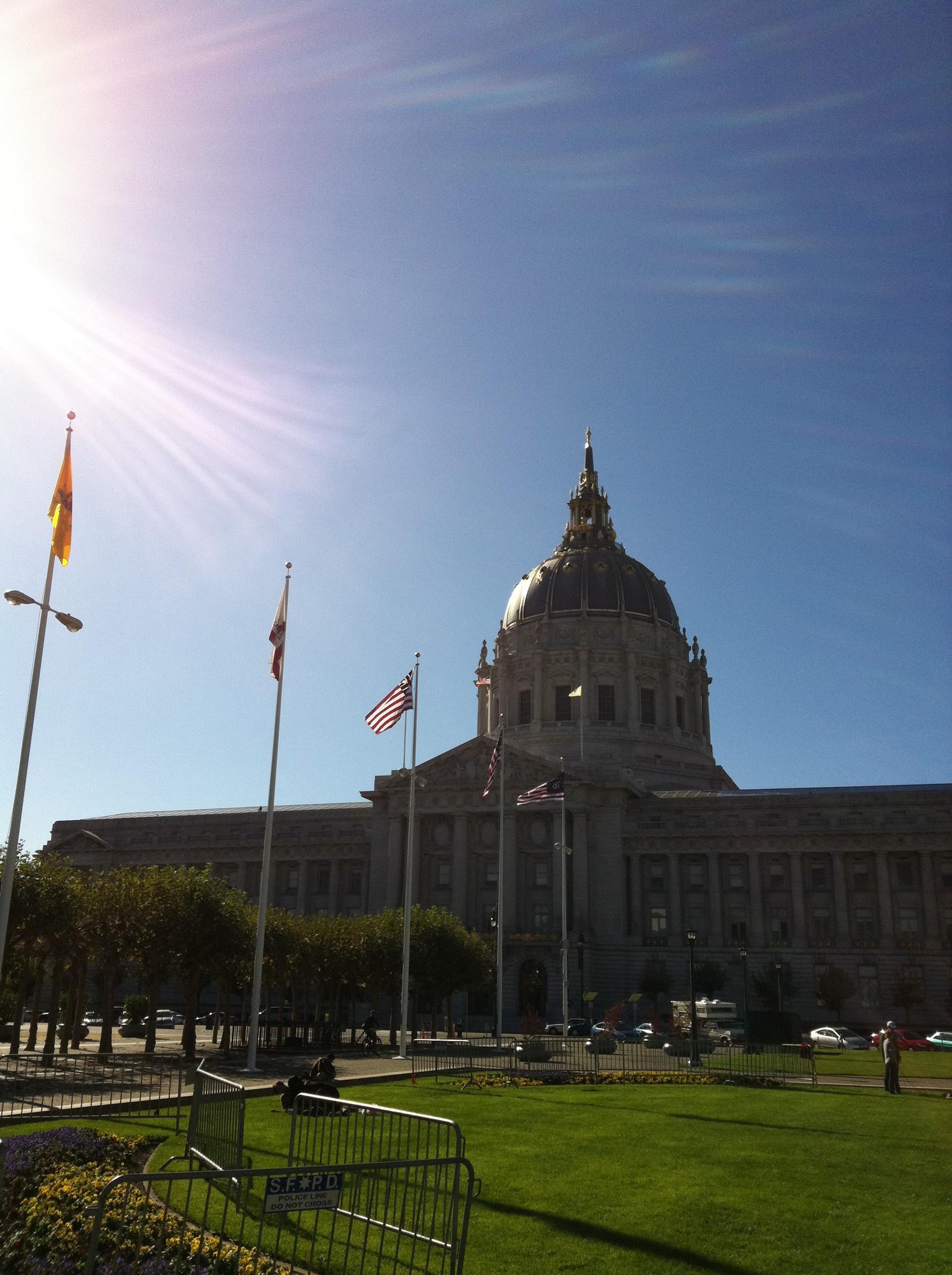 Splendid day in San Francisco