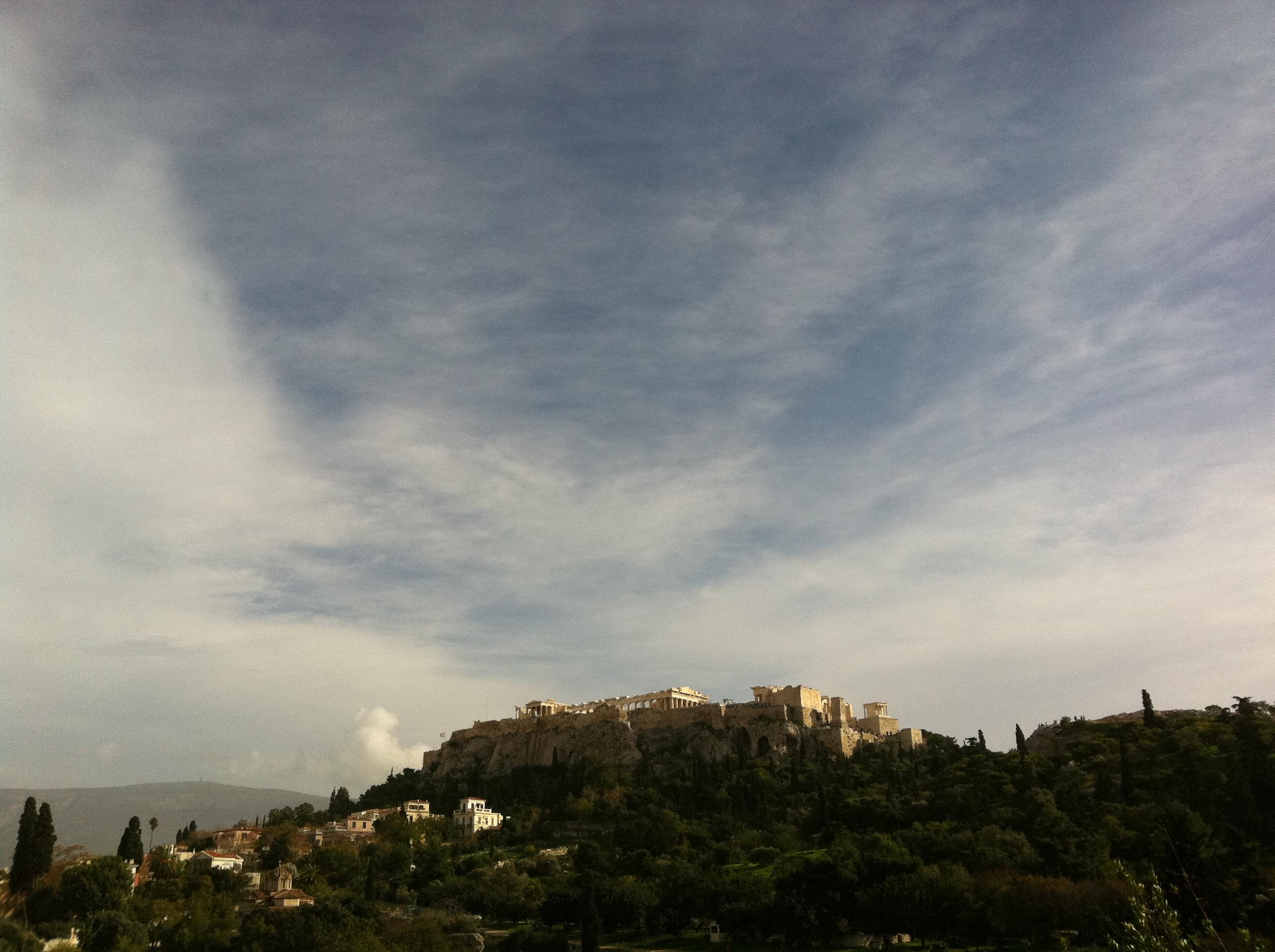 The Acropolis, from The Agora