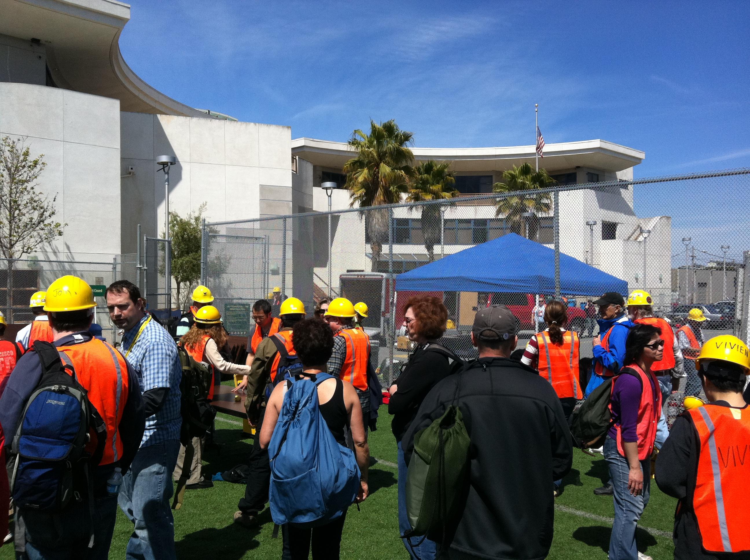 NERT Citywide Drill, 2011
