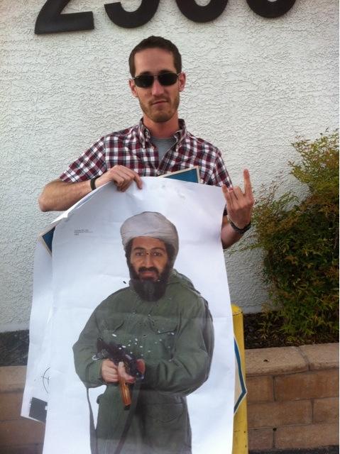I got Bin Laden