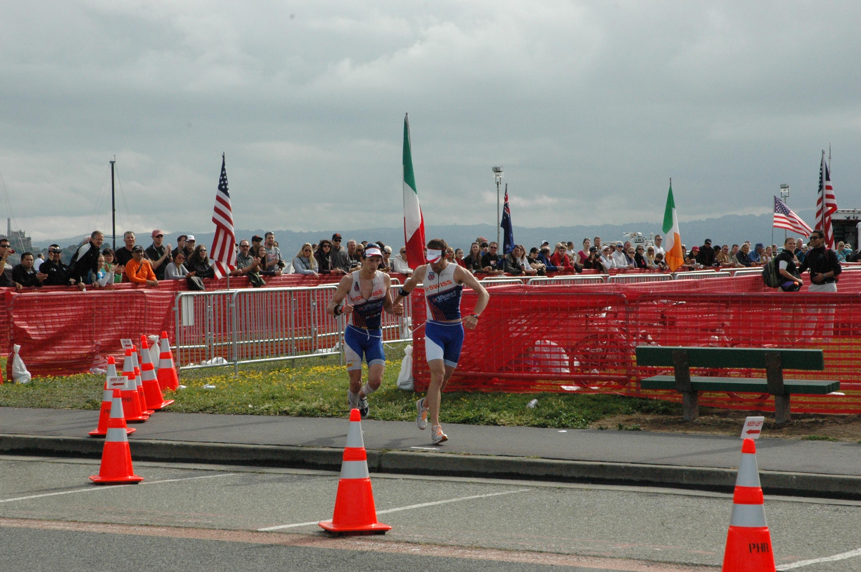 Escape From Alcatraz Triathlon, 2011