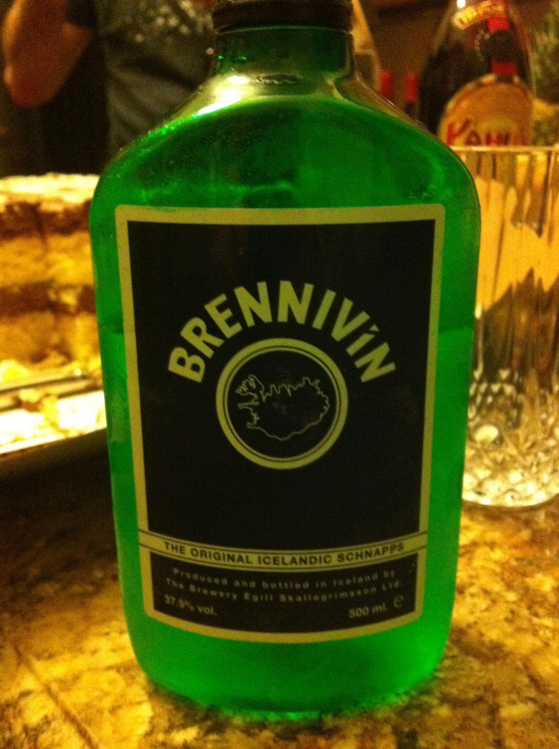 Crazy Icelandic Booze