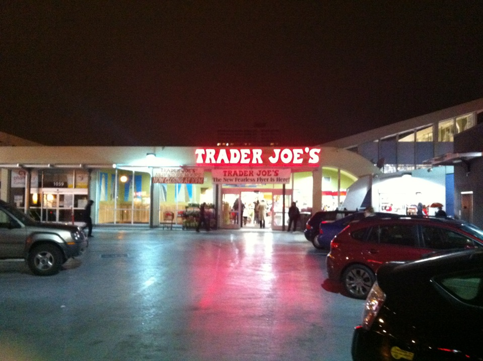 Checked in at Trader Joe's