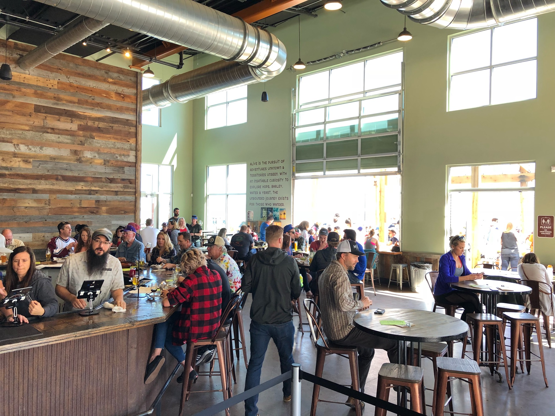 Checked in at New Terrain Brewing Co