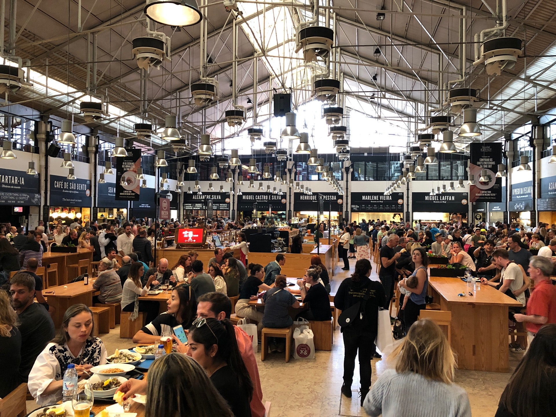 Checked in at Time Out Market Lisbon