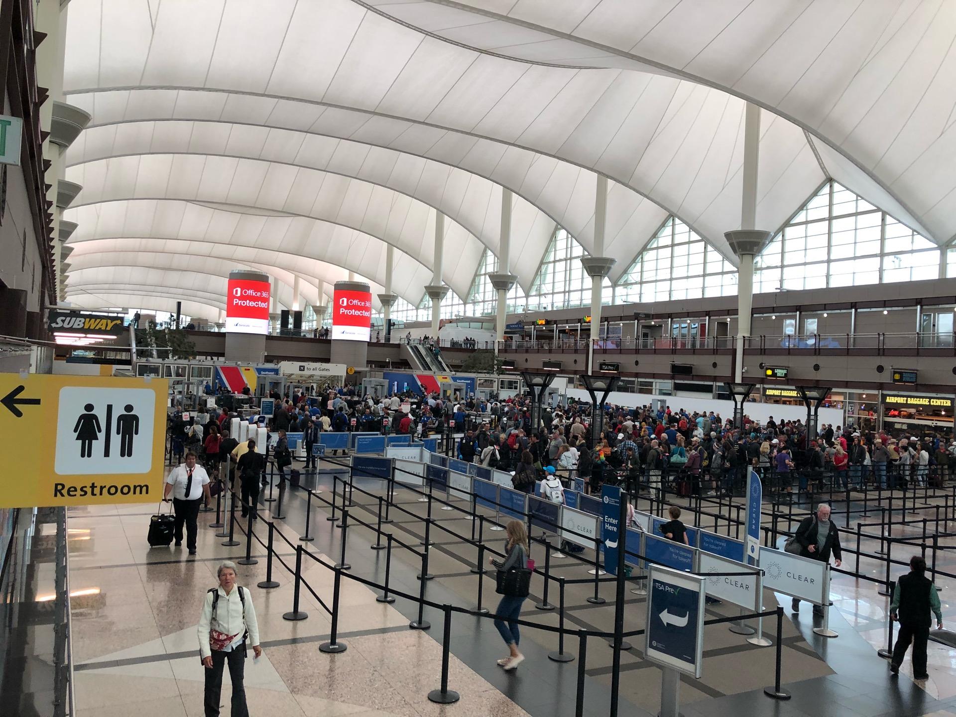 Checked in at Denver International Airport (DEN)