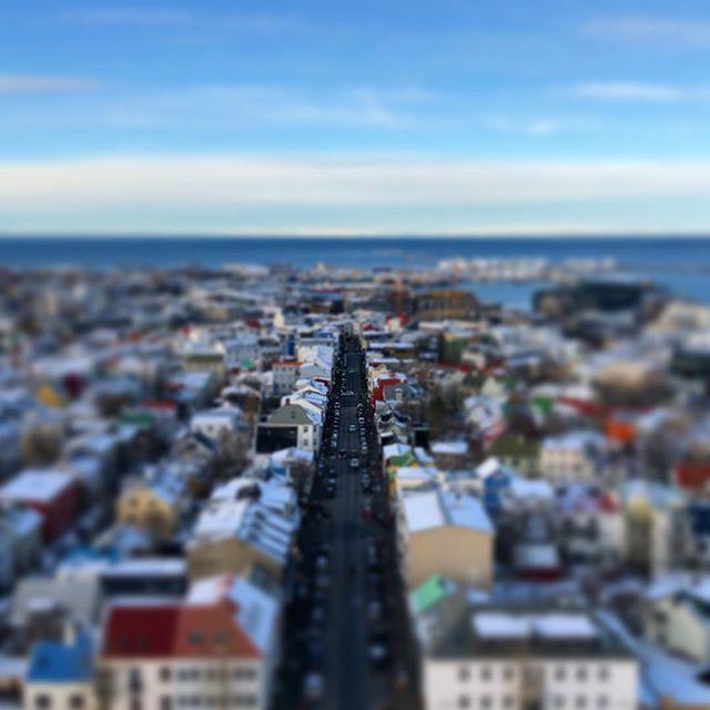 Classic Reykjavík view. #iceland