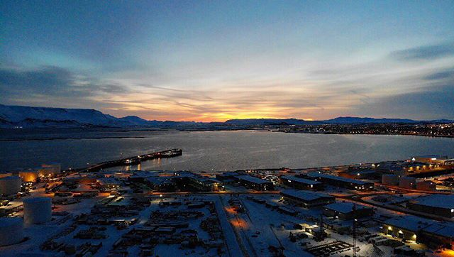 Good morning, Reykjavík. #dronestagram #djimavicair