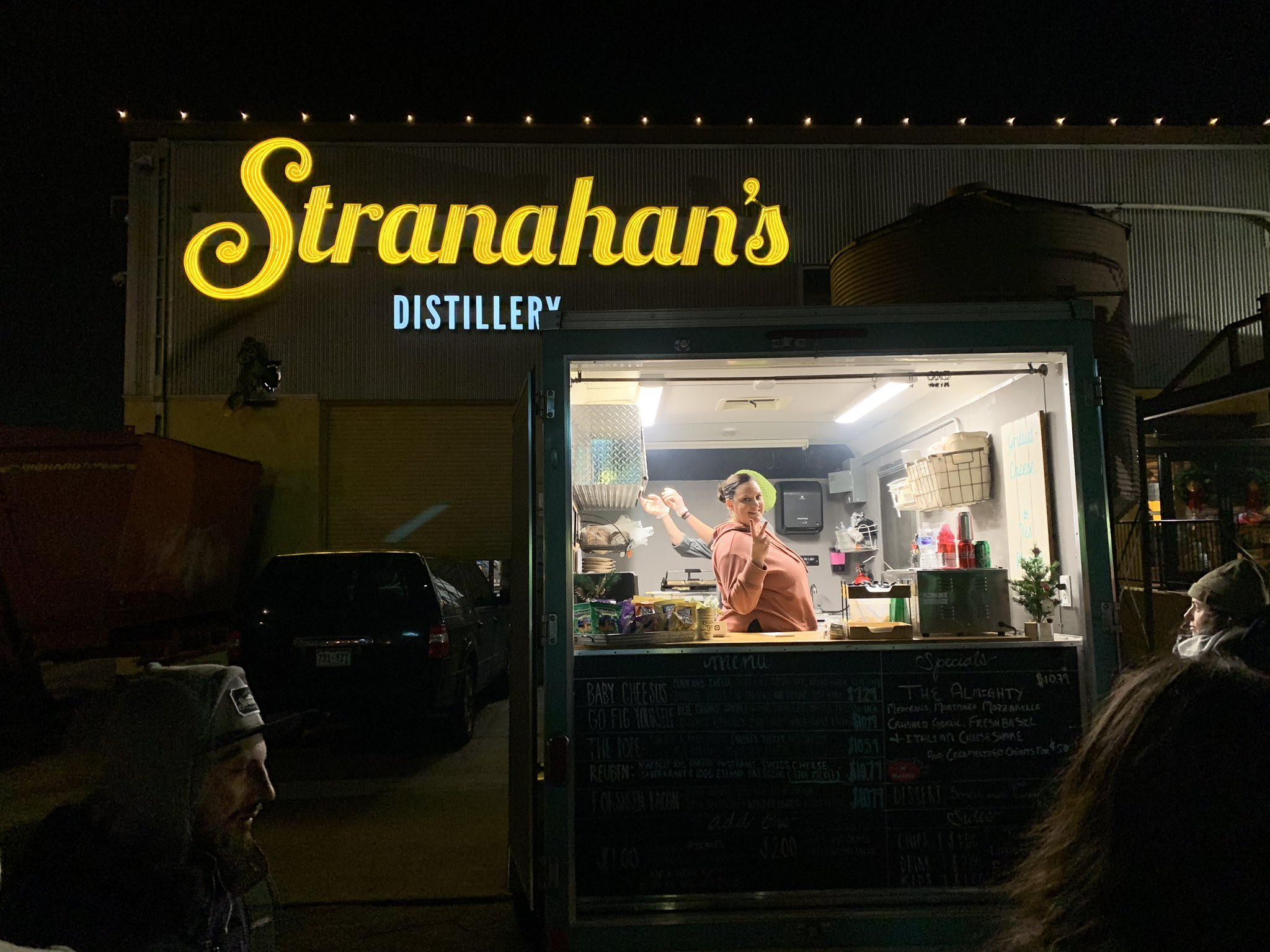 Delicious #WhatWouldCheesusDo sandwich at @Stranahans…
