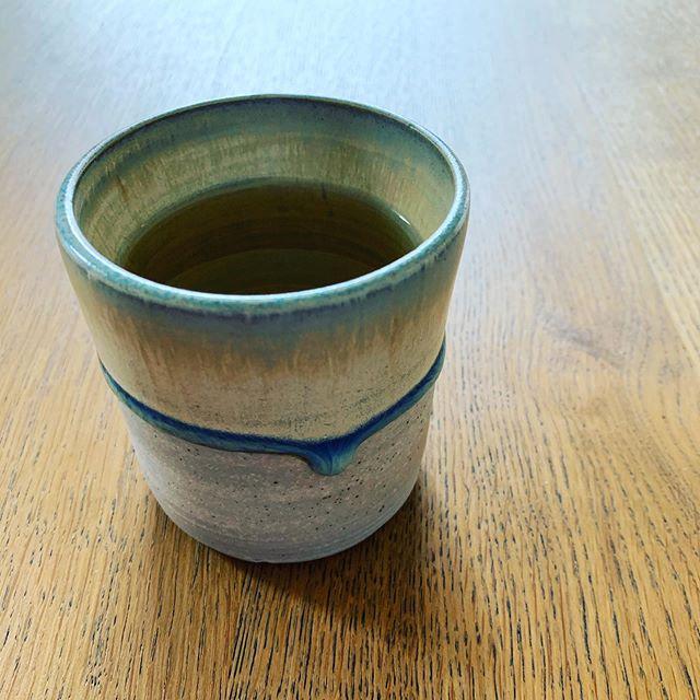 Drippy tea mug. Made by me, at @fluxstudiodenver