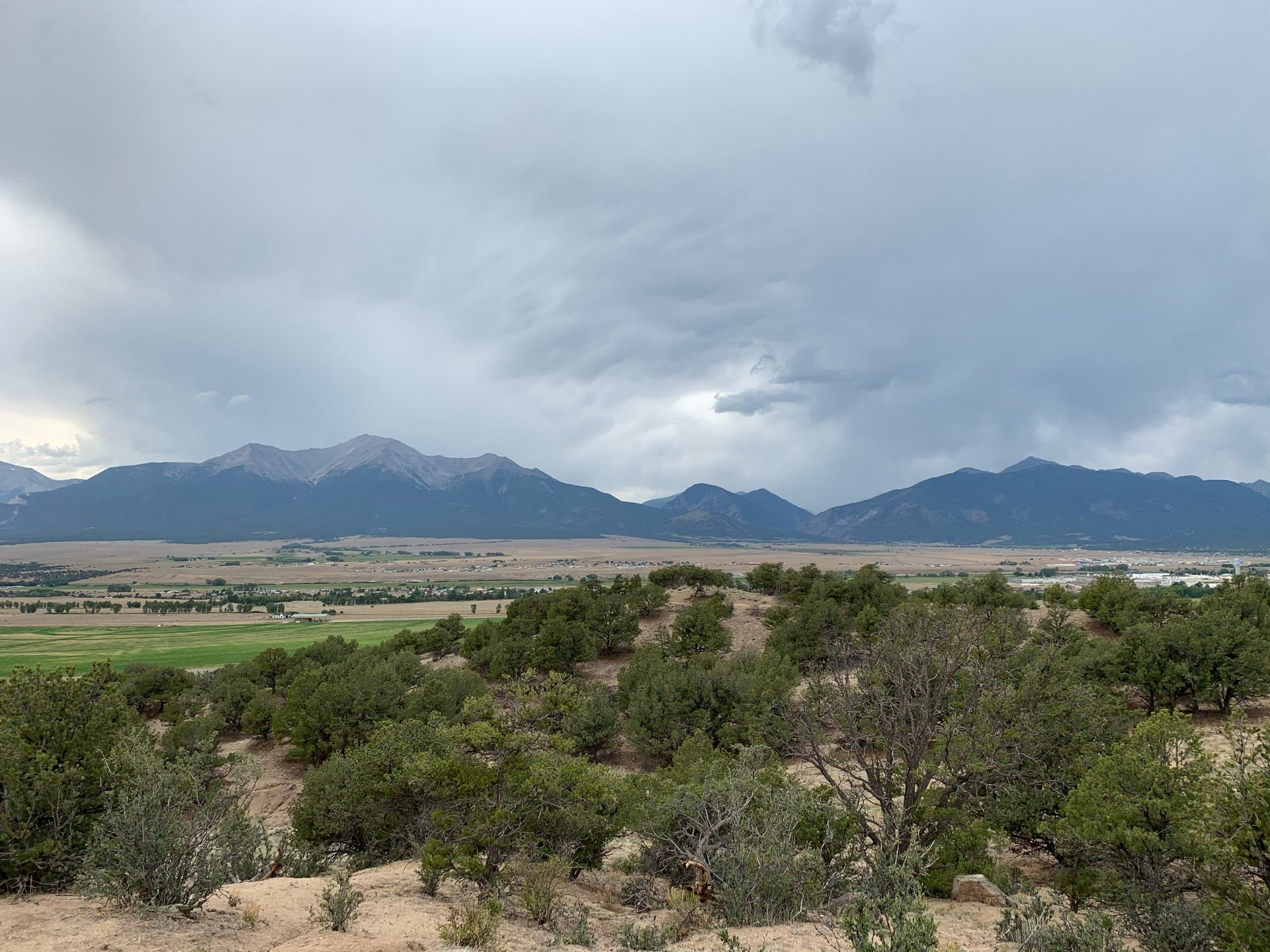 Checked in at Collegiate Peaks Overlook