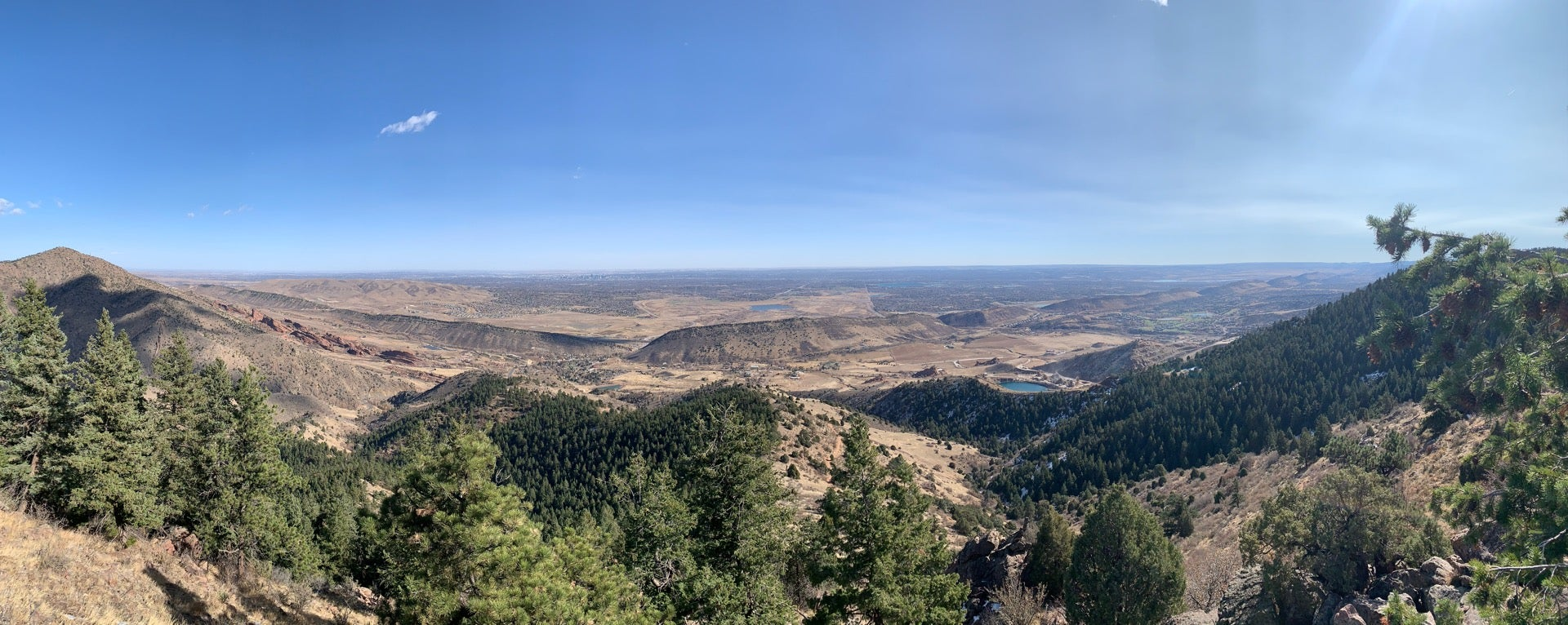 Checked in at Mt. Falcon Vantage Point