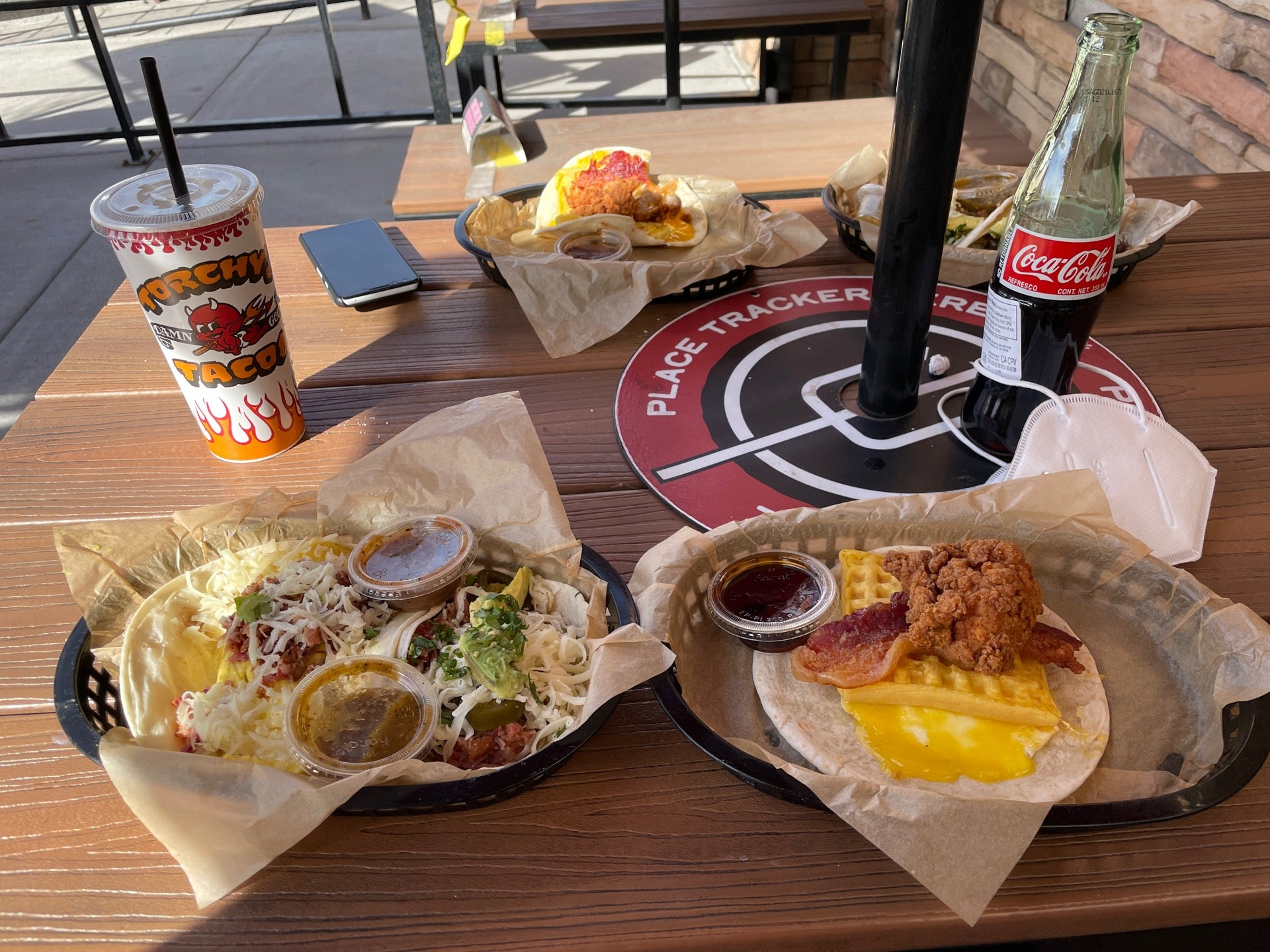 Checked in at Torchy's Tacos