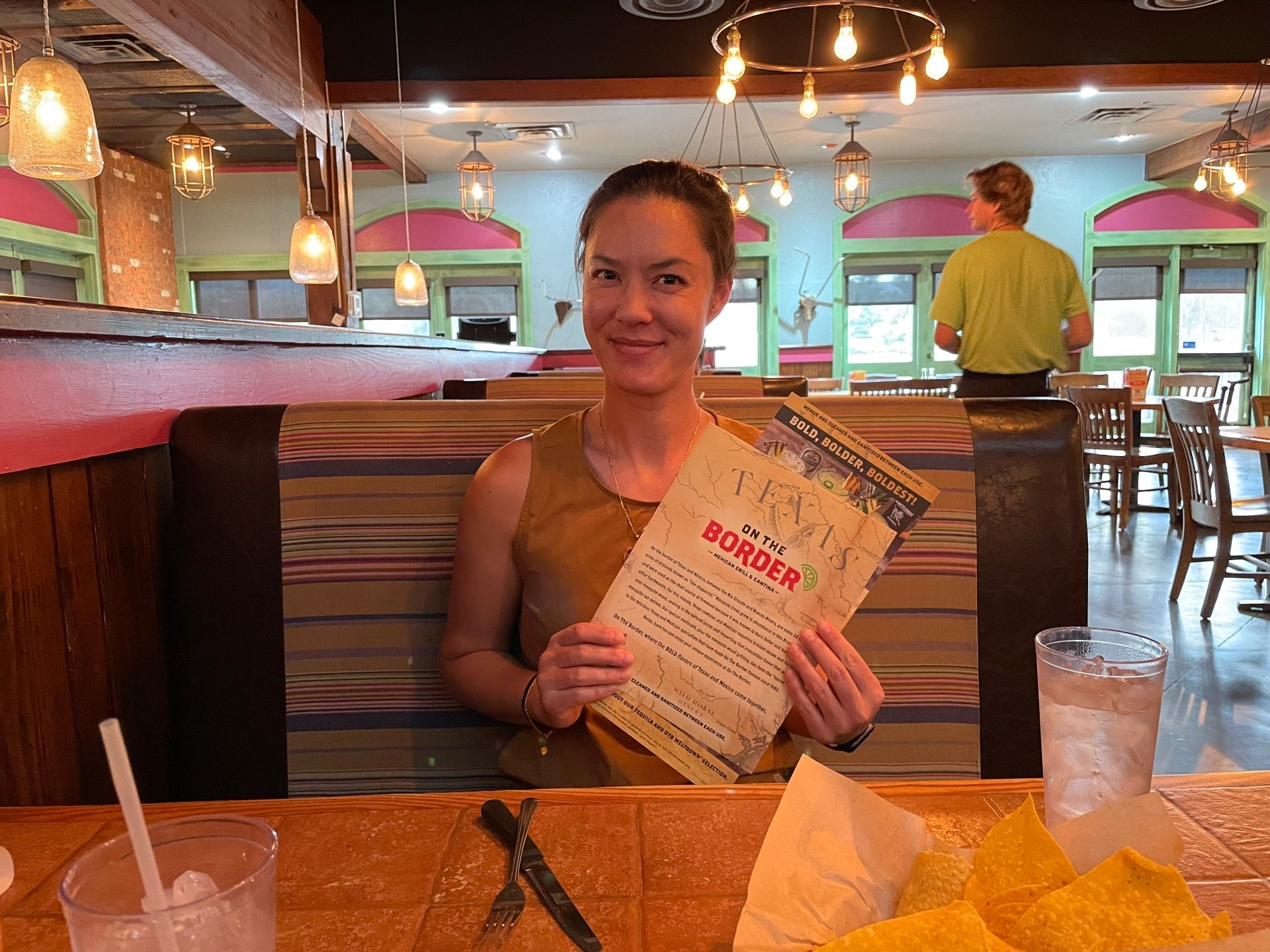 Checked in at On The Border Mexican Grill & Cantina